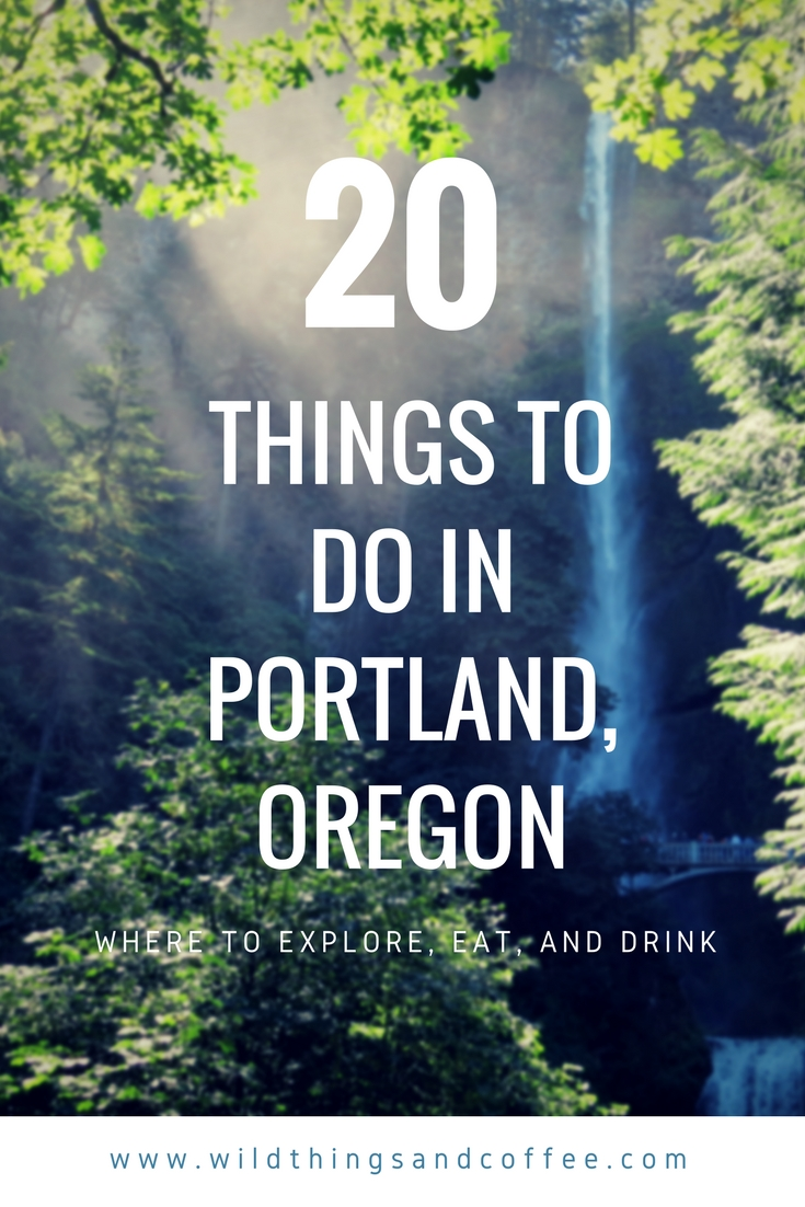 Graphic 20 Things Portland