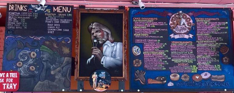 VooDoo Donuts Portland Oregon menu