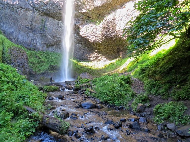 Latourell Falls Columbia River Gorge Oregon