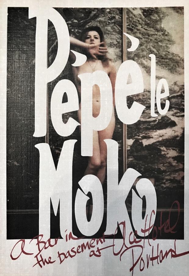 Pepe Le Moko postcard Portland Oregon