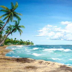 Palmas Del Mar Puerto Rico Print Acrylic Christine Lezcano Etsy