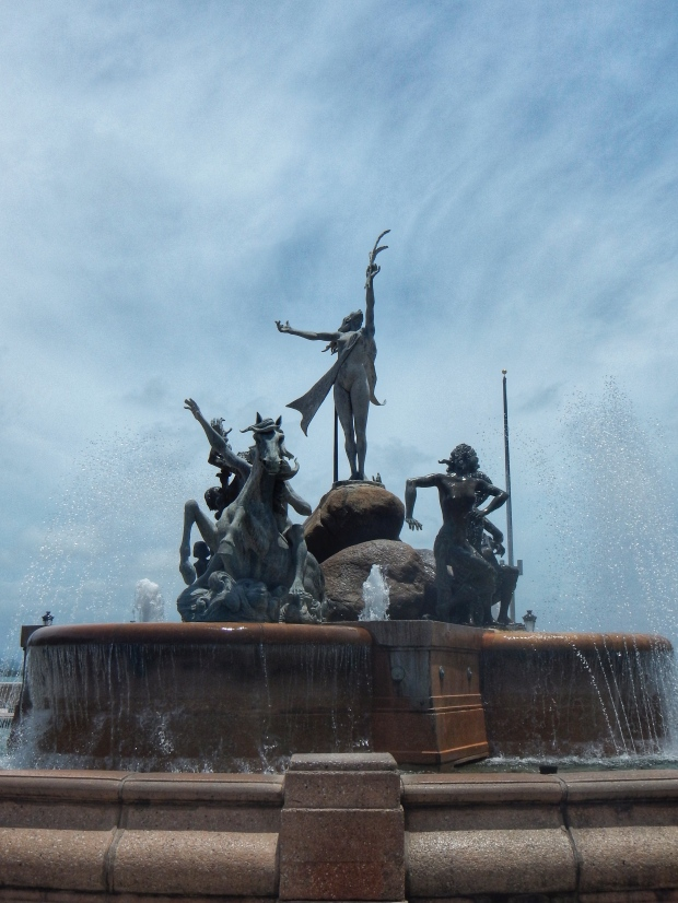 Fountain Old San Juan Puerto Rico