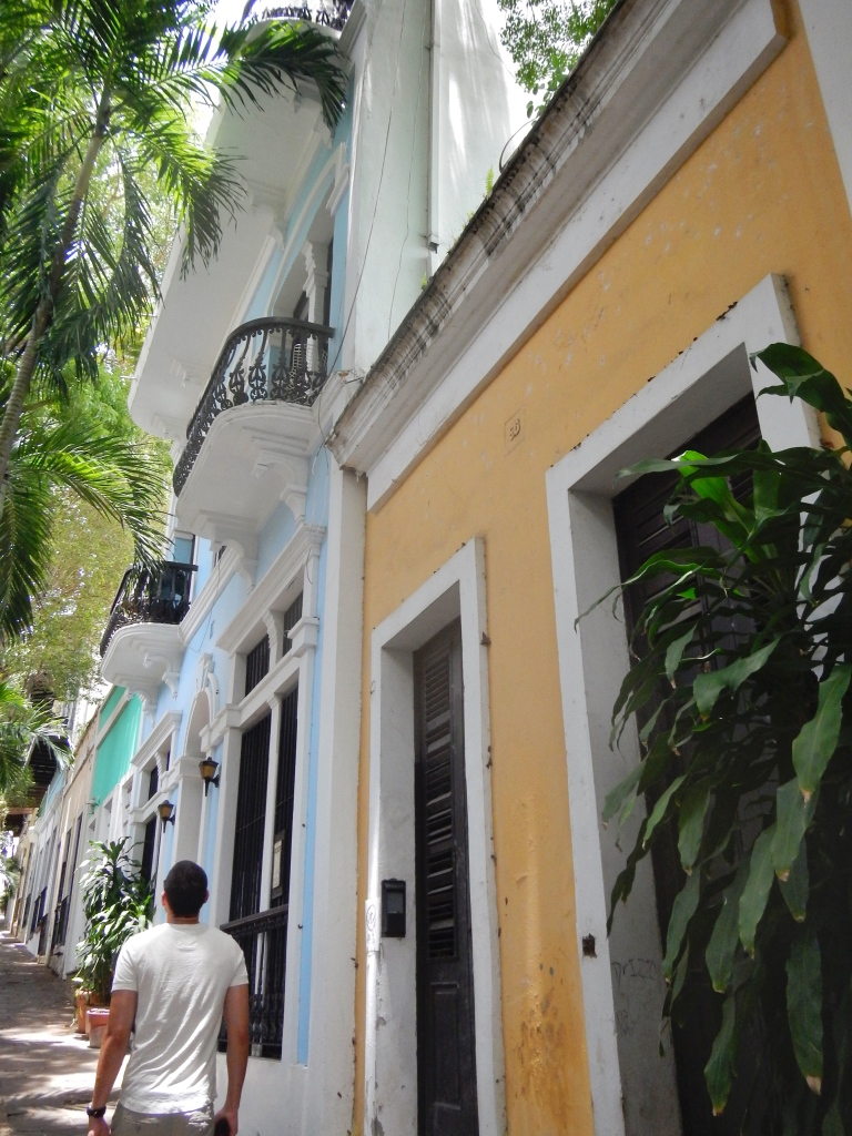 Streets of Old San Juan Puerto Rico
