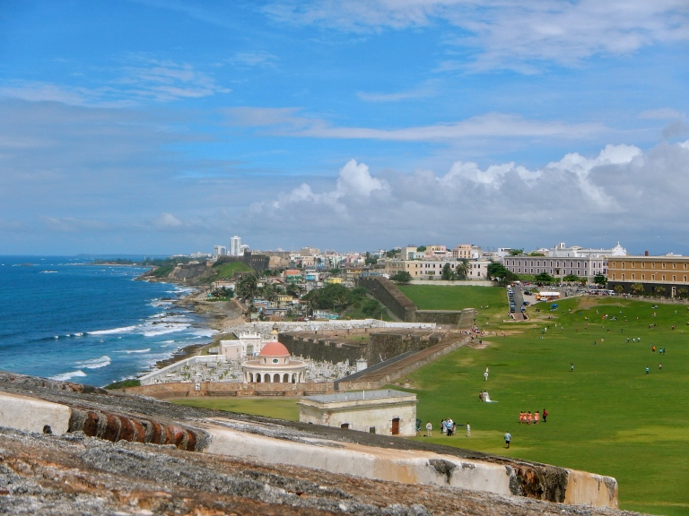 View of San Juan from El Morro Puerto Rico