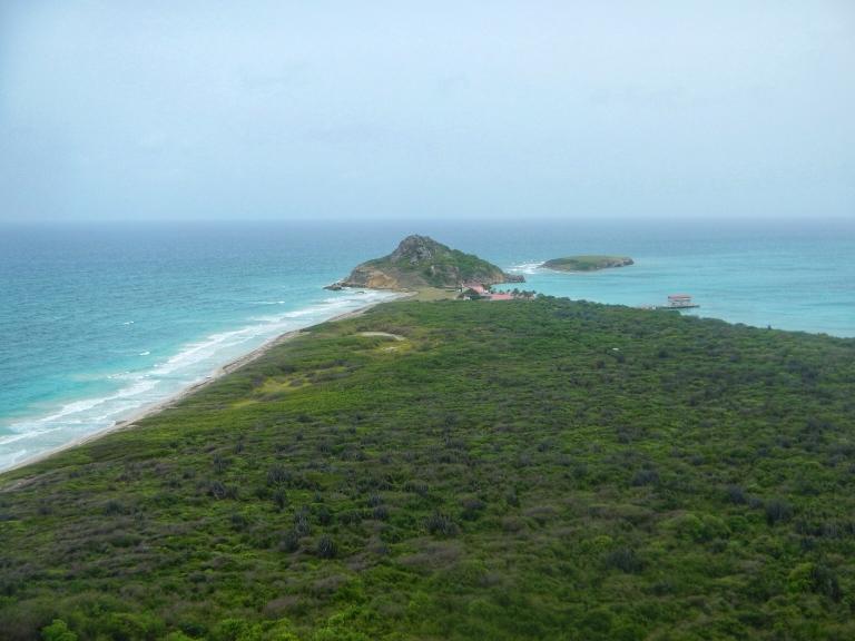Isla Caja de Muertos view from the top Puerto Rico