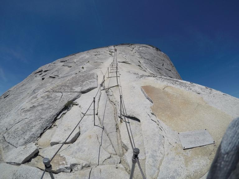 Half Dome Cables Yosemite