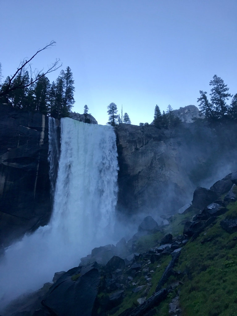 Mist Trail to Vernal Fall