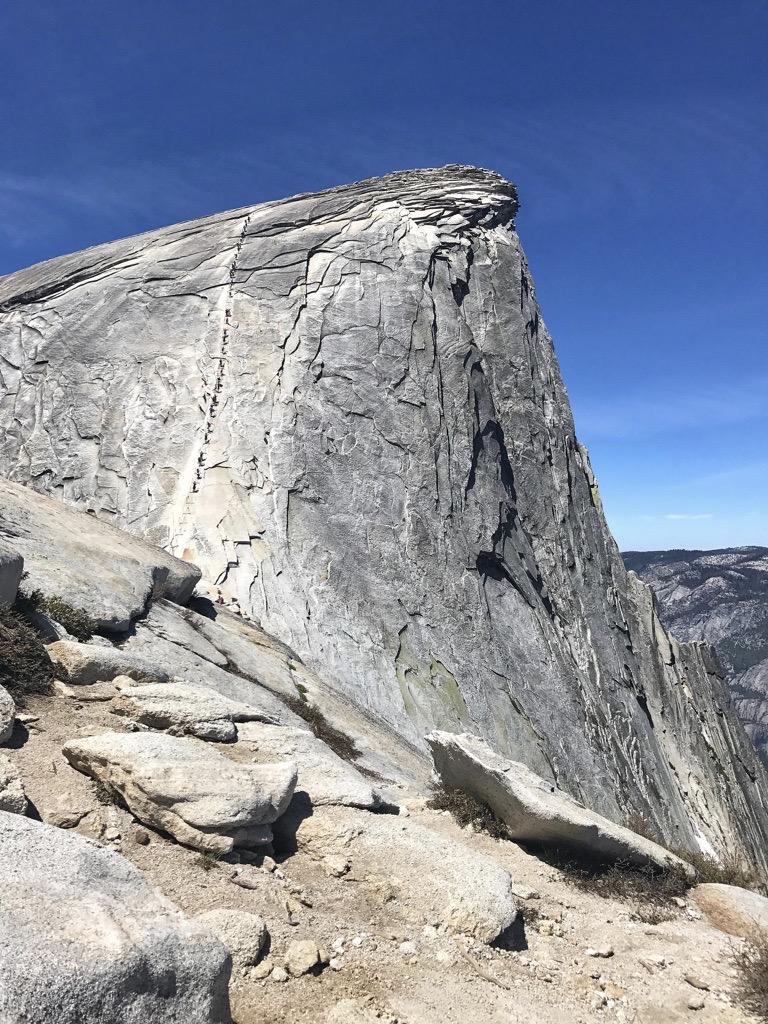 Yosemite Half Dome Cables
