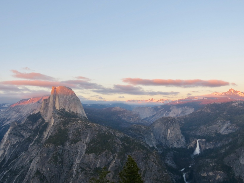 View of Yosemite Valley from Glacier Point