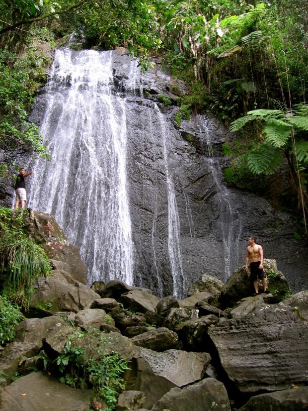 La Coca Waterfall El Yunque National Forest Puerto Rico
