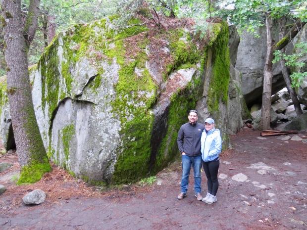 Lower Yosemite Falls trail