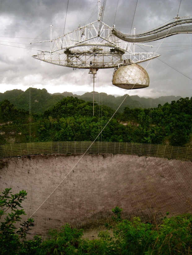Arecibo Observatory radiotelescopio Puerto Rico
