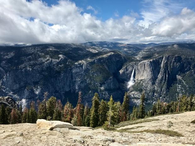 Yosemite Falls from Sentinel Dome