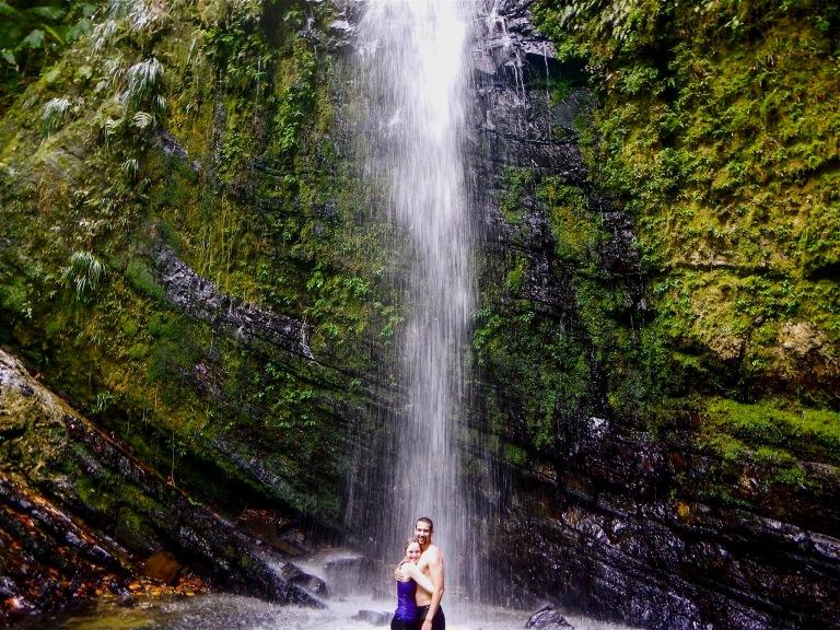 Juan Diego Falls El Yunque National Forest Puerto Rico