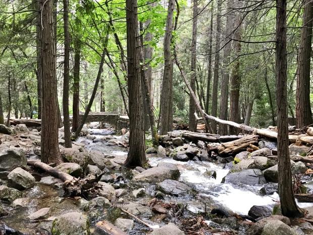 Bridalveil Falls Trail